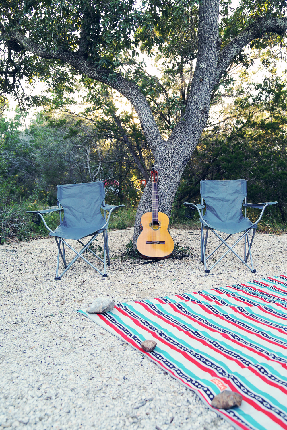 Camping With The Nieces At Government Canyon State Park